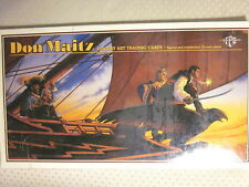 DON MAITZ Trading Cards: Signed & Numbered 10-Card Sheet  (Factory Sealed)