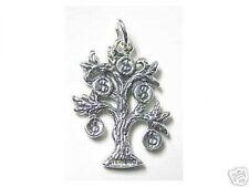LOOK 0666 DOLLAR Silver Money Sign Pendant Charm Family Tree