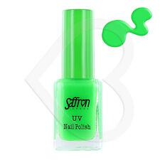 Saffron UV Reactive Glow Bright Rave Neon Nail Polish - 112 Green Florescent