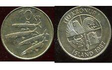 ISLANDE 10 kronur   1987    ANM   ( bis )