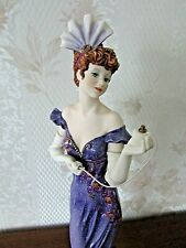"G. Armani Figure Figurine Statue Sculpture ""Ashley"" Lady Perfume, Italy, Rare"