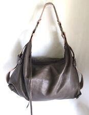 Designer Soft Pebble Brown Leather Handbag Purse Satchel by Tammi Lyn
