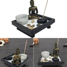 Buddha Candle Holder Tealight Incense Holder Decor Feng Shui Crafts NEW