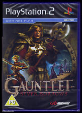PS2 Gauntlet Seven Sorrows (2006), UK Pal, New & Sony Factory Sealed