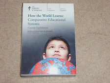 Great Courses How the World Learns: Comparative Educational Systems DVD NEW