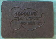 "Walt Disney - 6x medaglie con cofanetto ""Topolino Olimpiadi Montreal"" 2x Findus"