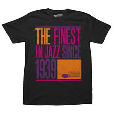 Blue Note Records-The Finest Jazz Since 1939-Retro Logo-Small Black T-shirt