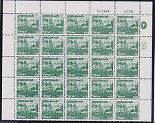 ISRAEL Landscape #468 ROSH PINNA  0.50  Plate Block Stamp 30.03.78 / 371858
