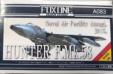 1/144 Cold War Fighter : Hawker Hunter Mk.58 [Civil NAF Atsugi ]: Fox One Studio
