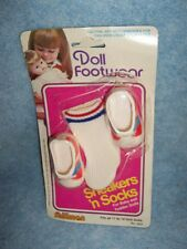1980 Sneakers & Socks for Baby and Toddler dolls by Shillman