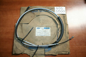 NOS 1987-91 Ford Parking Brake Cable E7TZ-2A635-H F150 F250 F350 Bronco OEM D
