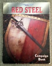 Red Steel Campaign Setting (Book Only) Dungeons & Dragons 2nd TSR 2504