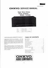 Onkyo Service Manual für M 5099