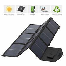 Kyng Power 60w Portable Solar Panel Foldable Charger 18V Charging 5V Usb New