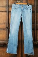 Citizens of Humanity Kelly #001 Stretch Low Rise Bootcut Size 29 Split Leg Jeans