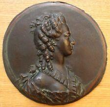 Jean-Baptiste Nini médaillon XIXe Suzanne Jarente de la Reynière, 1769,bronze___