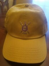 Omega Psi Phi old gold dad cap