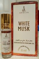 White Musk 6ml by Khalis Floral Warm Spicy Musky Amber Animalic Perfume oil