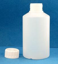 40 x 500ml naturale, a collo largo bottiglie di plastica con tappi a vite 38mm Ovatta per imbottiture