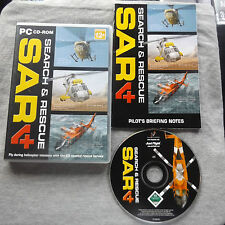 SEARCH & RESCUE 4 SAR 4 PC-CD ( coastal rescue helicopter flight simulation )