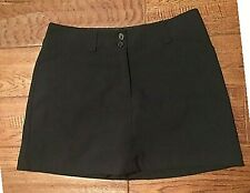 Nike Golf Fit Dry Women's Size 6 Black Golf Skort Barely Used Condit. 256868-010