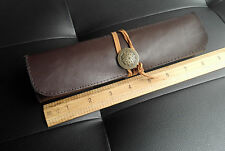 Carving Knife Punch Tool Roll PU Leather Storage Bag Tool Kit