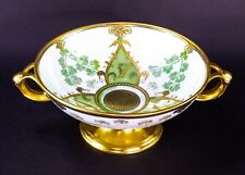 Rosenthal Empire Bavaria Hand Painted Pickard Irish Centerpiece Bowl