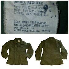 Men's Vintage Vietnam Era 1969 M65 Military Field Jacket small Regular (j276)