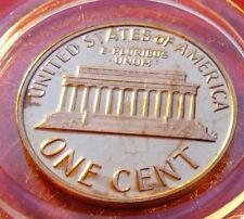 Proof strike 1977 S Lincoln Memorial Proof Penny One Cent,