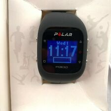 Polar A300 Activity Tracker HR Black Silicone Fitness Heart Rate Monitor Sport