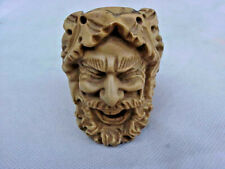 MEERSCHAUM PIPE HEAD ONLY-OLD MAN-SUPER FINE CARVING-GREAT DETAIL