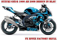 FX Factory DECORO GRAPHIC KIT SUZUKI GSX-R GSX R 600/750/1000/1300 SKULL B