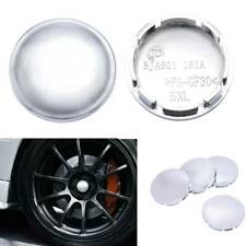4Pcs Universal Chrome Car Center Caps Wheel Tyre Rim Hub Cap Cover 56mm For Car