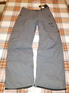 Oakley Westend Shadow 3M  Thinsulate Insulation Ski/Snow Pants Mens Medium