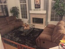 Tan couches from Ashley furniture, barely used