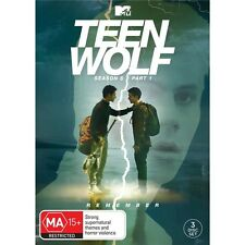 TEEN WOLF-Season 6, Part 1-Region 4-New AND Sealed- 3 DVD Set-TV Series