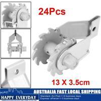 Galvanised Clip Lock Permanent Wire Strainer-67699 50//PK Ratchet Wire Strainer