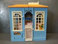 VINTAGE 1998 MATTEL BARBIE COTTAGE DREAM HOUSE CARRY AND FOLD PLAYSET
