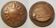 medaglia bicentenario liquori aperitivi Cinzano 1757 1957 Vittoria d'Alba