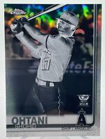 Shohei Ohtani 2019 Topps Chrome Gold Rookie Cup Negative Refractor ANGELS HOT