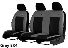 CITROEN JUMPY DISPATCH 2017 2018 2019 ARTIFICIAL LEATHER TAILORED SEAT COVERS