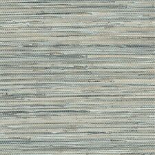 Blue Grey Faux Grasscloth Wallpaper NT33703