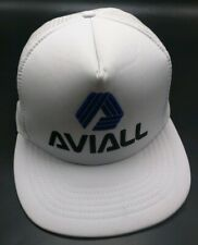 AVIALL SERVICE, INC. (aircraft / aviation parts) white adjustable cap / hat