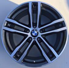 """GENUINE BMW 19"""" INCH 3/4 SERIES 704M MSPORT REAR ALLOY WHEEL 8043651 F30 F32"""