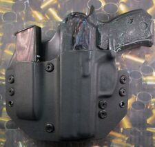 Hunt Ready Holsters: CZ 75 P01 LH OWB Holster with Extra Mag Carrier