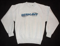 Vintage ORIGINAL 1990s FRANKFURT GERMANY Soft Tourist CREW NECK SWEATSHIRT M