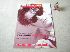 "THE CATALOGUE Nr. 72 JULY 1989 inkl. 7"" FLEXI SOUP DRAGONS (Kiss The Gun)"