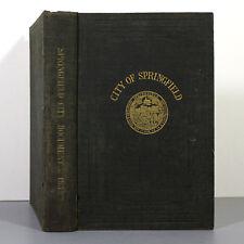 Municipal Register of the CITY OF SPRINGFIELD for 1934 - Comm. of Massachusetts
