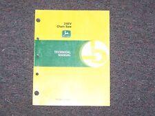 John Deere 25EV  Chain Saw Technical Manual   B5