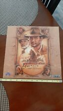 Indiana Jones and The Last Crusade, Movie Promotional Sign, Authentic, 1989